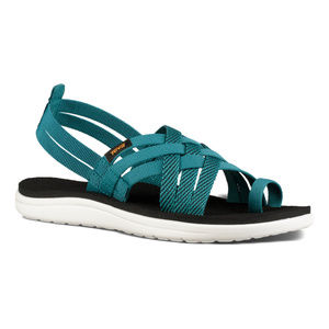 Teva Hoya Strappy Sandal Her Deep Lake Teal 8